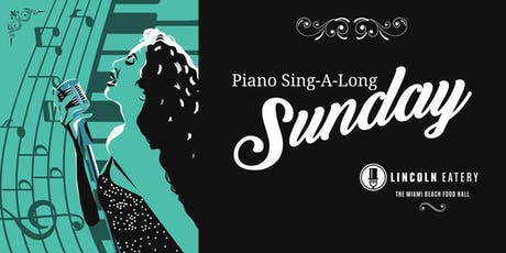 Piano Sing-A-Long Sundays tickets