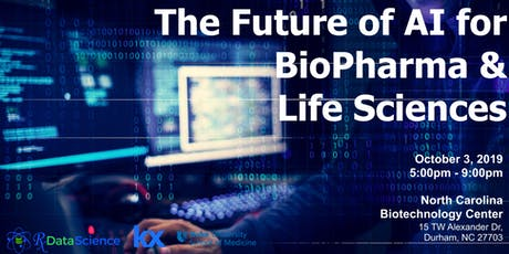 Future of AI for BioPharma & Life Sciences tickets