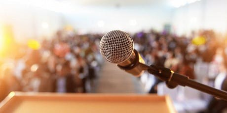 ONE DAY PUBLIC SPEAKING BOOTCAMP  - How to speak with confidence ANYWHERE, ANYTIME to ANY AUDIENCE  tickets