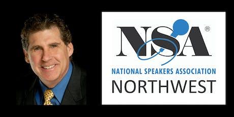 NSA Northwest Presents Orvel Ray Wilson, CSP tickets