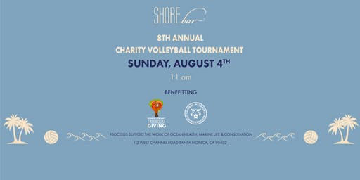 The 8th Annual SHOREbar Charity Volleyball Tournament Presented by Casamigos