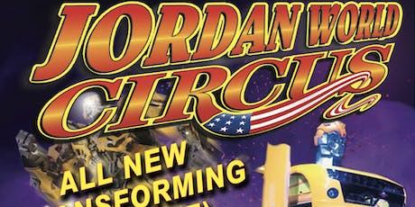 Jordan World Circus 2019 - Sulphur, LA tickets