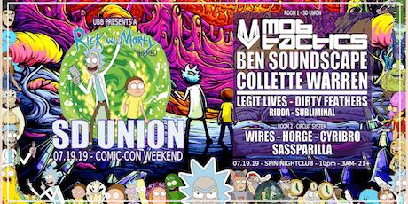 SD UNION w/ Mob Tactics + Ben Soundscape + Collette Warren tickets