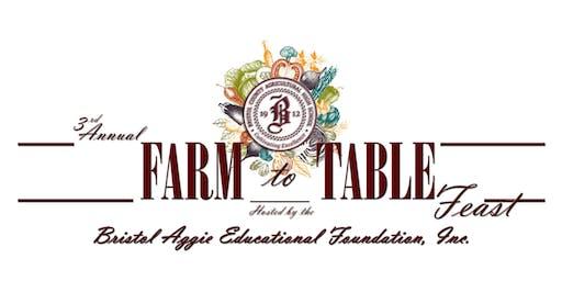 3rd Annual Farm to Table Feast