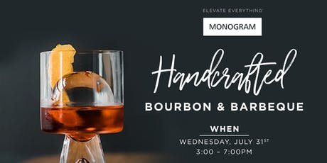 Handcrafted Bourbon & Barbeque tickets