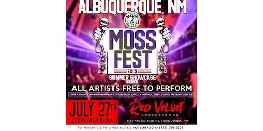 MOSSFEST 2019 SHOWCASE TOUR