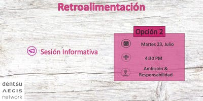Retroalimentación: Opción 2