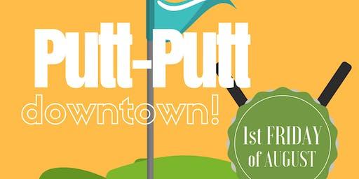 Downtown Tipp City Putt Putt Through Town