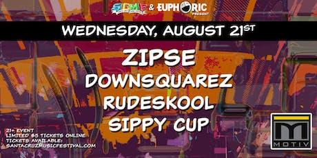 Zipse, DownsquareZ, Rudeskool & Sippy Cup at Motiv tickets