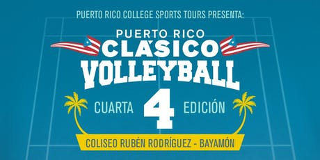 Puerto Rico Clásico Volleyball 2019  tickets