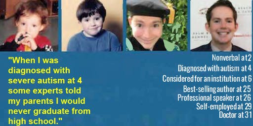 AquAbility Fundraiser - Kerry Magro, PhD., Public Speaker