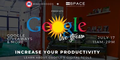 Google Livestream: Business Productivity With Google's Digital Tools