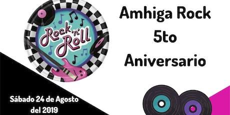 AmhigaRock 5o Aniversario entradas