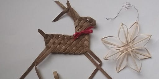 Paper Weaving Christmas Ornaments