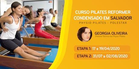 Curso de Reformer Condensado - Physio Pilates Polestar - Salvador ingressos