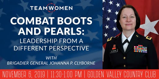 Combat Boots and Pearls: Leadership from a Different Perspective | Veterans Day Luncheon