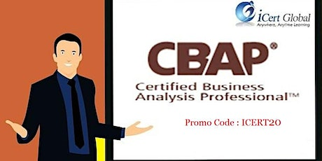 CBAP Certification Classroom Training in Daly City, CA tickets