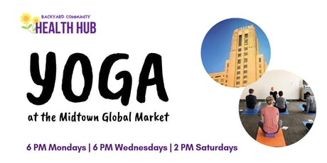 Free Yoga at the Midtown Global Market tickets