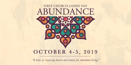 Abundance Weekend 2019 tickets