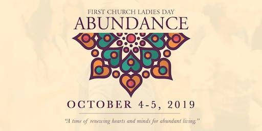 Abundance Weekend 2019