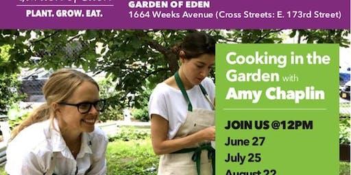 Chef in the Garden