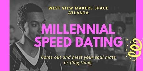 Millennial Speed Dating tickets