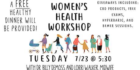 Women's Health Workshop tickets