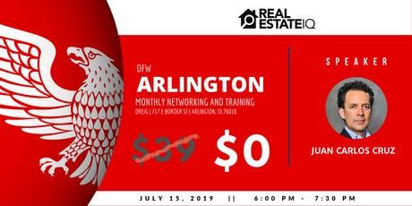 DFW - Arlington Monthly Real Estate Networking and Deal Finding Training tickets