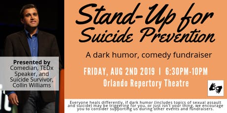 Stand-Up for Suicide Prevention tickets