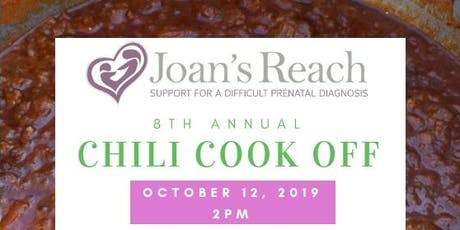 Joan's Reach 8th Annual Chili Cook Off tickets