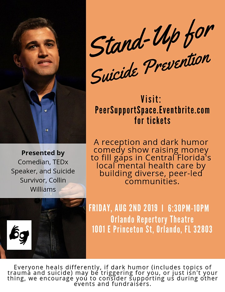 Stand-Up for Suicide Prevention image