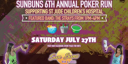 Sun Buns 6th Annual Poker Run