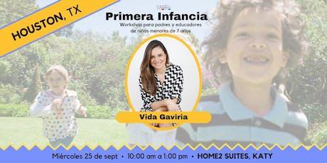 Primera Infancia: Workshop para padres y educadores entradas
