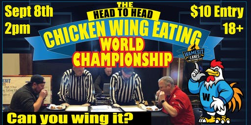 Head to Head Wing Eating World Championship