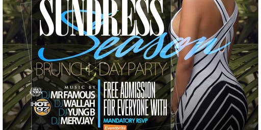 SUNDRESS SEASON BRUNCH & DAY PARTY #CUTTYPALANCE