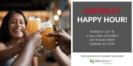 GrepBeat July Happy Hour tickets
