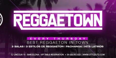 Reggaetown at Otto Zutz Free Guestlist - 8/01/2019 tickets