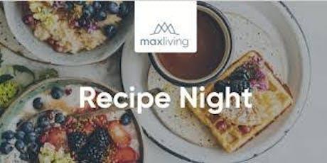 Recipe Night tickets