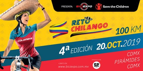 Reto Chilango - Save the Children 2019. País invitado Colombia boletos