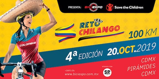 Reto Chilango - Save the Children 2019. País invitado Colombia