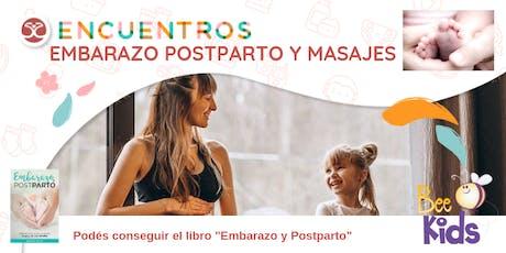 Encuentros - Embarazo, Postparto y Masajes para bebés entradas