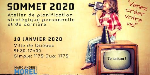SOMMET 2020 QUÉBEC : Conférence-Atelier de planification stratégique personnelle et de carrière