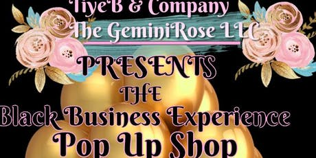 The Black Business Experience Pop Up Shop tickets