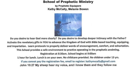 School of Prophetic Ministry tickets