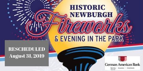 2019 Historic Newburgh VIP Fireworks Button tickets