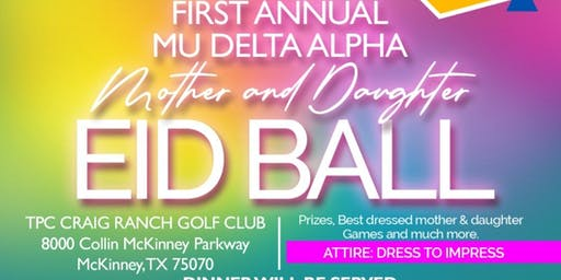 Mu Delta Alpha Eid Ball 2019