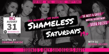 SG Shameless Saturdays tickets