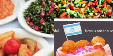 COOKING AS A SECOND LANGUAGE: Israeli Cooking: Import or Export? tickets