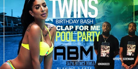 ABM TWINS POOL PARTY tickets