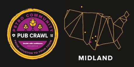 Petro Community Pub Crawl: Midland Happy Hour at the Midland Beer Garden tickets